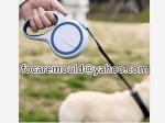 correa de perro de dos colores
