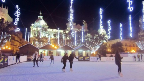Ice - skating rink