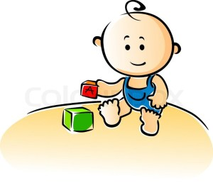 12129876-cute-cartoon-baby-playing-with-building-blocks