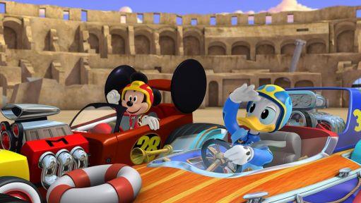 Mickey și piloții de curse2