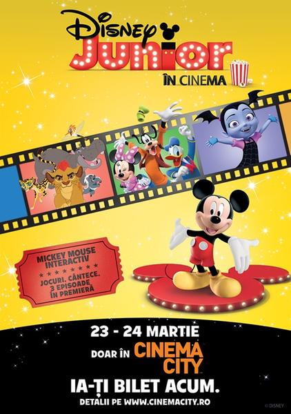 Disney junior in cinema