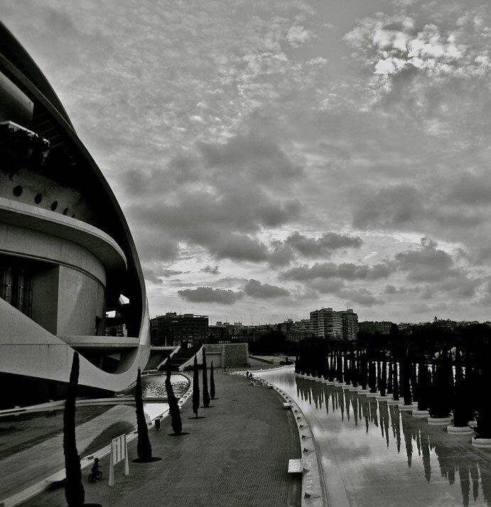 Cielos con nubes, por Alfonso Vila Francés