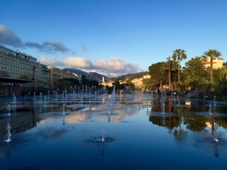 Fuente en la Plaza Massana