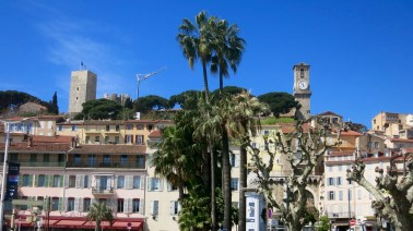 Vista del centro de Cannes
