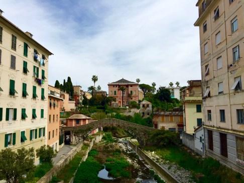 Puente y Villa en Sestri