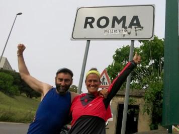 Entrando en Roma