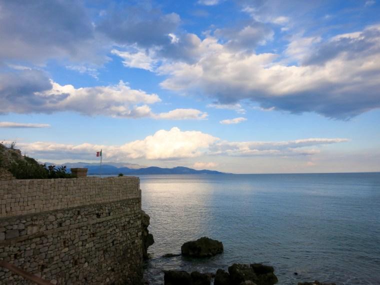 Paisaje cerca de Terracina