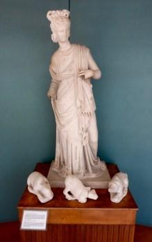 Estatua de la maga Circe, encontrada en Sperlonga