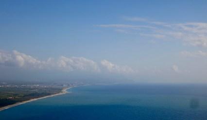 Vista desde lo alto de Cabo Vaticano