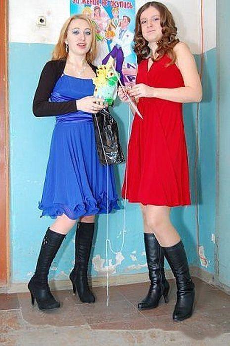 Гламурные девушки с провинции (61 фото)