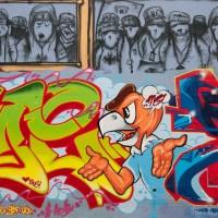 Frankfurt - Das Gelände um die Naxoshalle als legaler Ort für Graffiti
