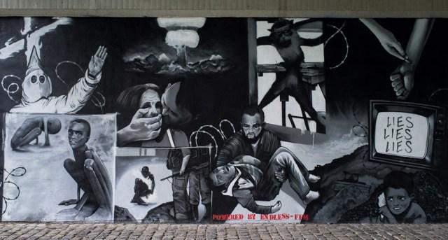 2013-05-25 X100 Frankfurt Graffiti Friedensbrücke 027