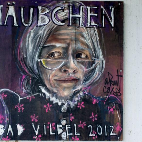 2013-05-25 X100 Graffiti Bad Vilbel Unterführung Homburger Straße 024