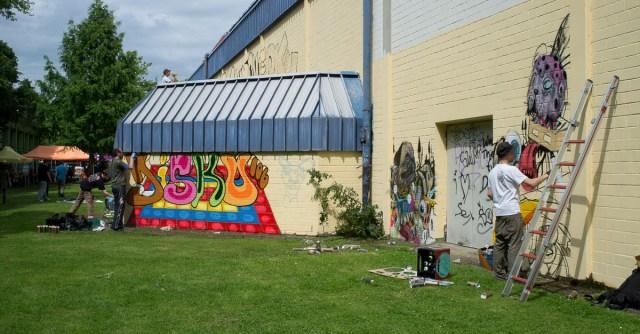 2013-06-29 X100 Graffiti Freiraumgallerie Maintal 018