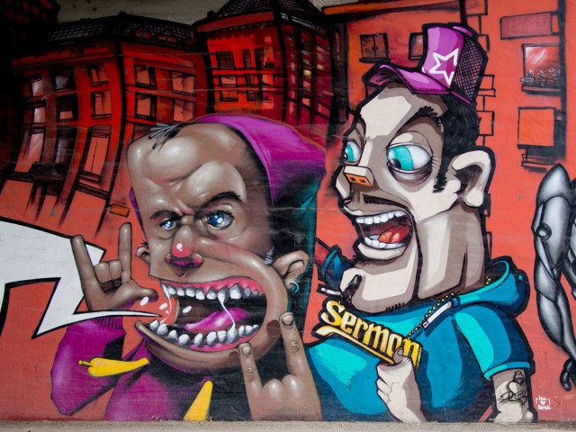 Graffiti Wiesbaden Hagenauer Straße