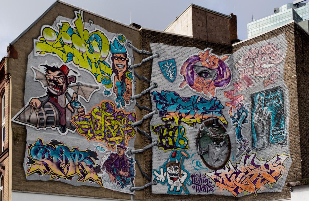 Beteiligte Kunstler Waren Aus Istanbul Esk Reyn Omeria Nukka Dozer Kmr Krys2looper Und Dem Rhein Main Gebiet Alpha Joe Indian Knstfhlr He Cor