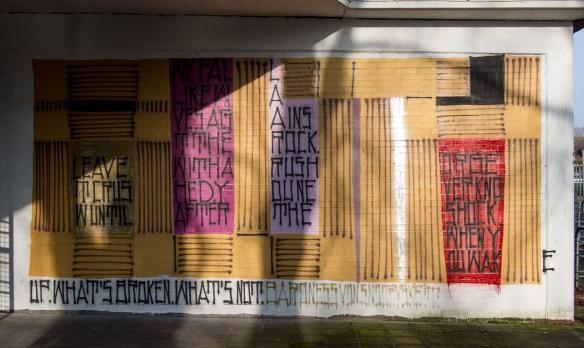 Bad Vilbel - Graffiti am Schwimmbad