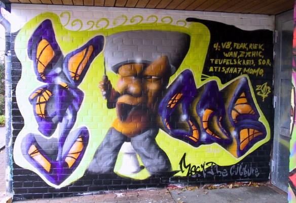Graffiti Schelmengra