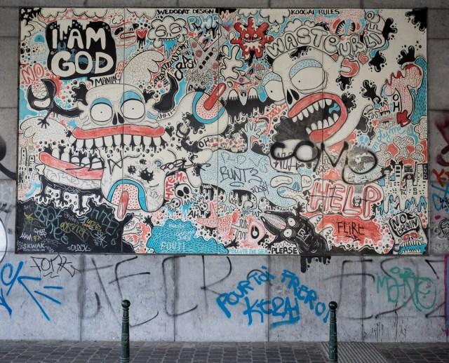 Brüssel Graffiti und Streetart