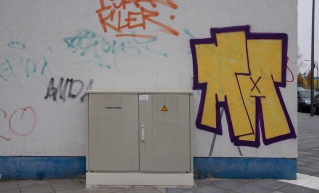 Frankfurt Osthafen Graffiti