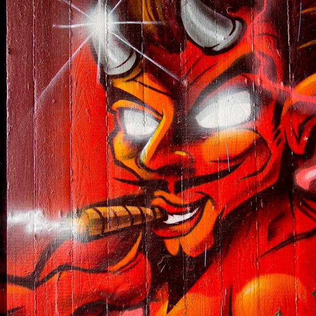 Graffiti Mainz Gesichter Faces
