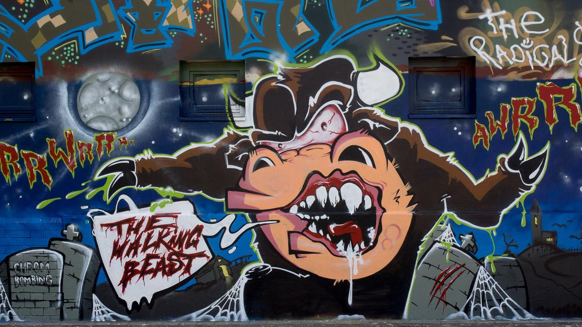 Straßenkunst in Leipzig