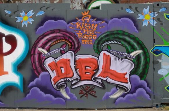 Frankfurt Graffiti Naxoshalle