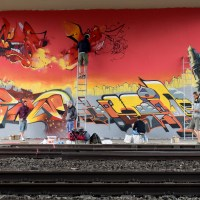 Meeting of Styles in Wiesbaden/Mainz-Kastel - work in progress