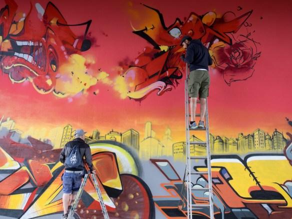 Graffiti Meeting of Styles