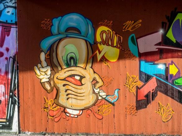 Graffiti Frankfurt Ratswegkreisel