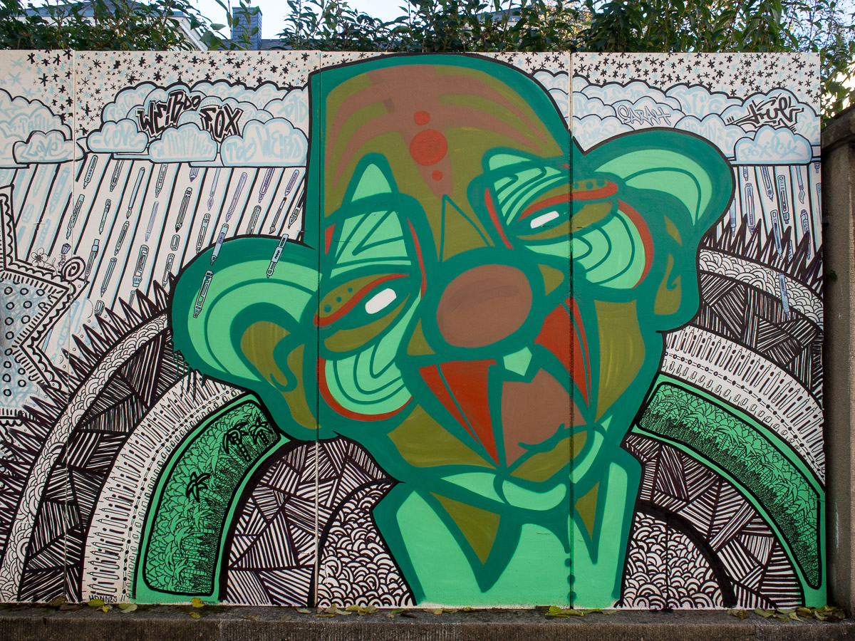 Graffiti & Streetart in Trier (22 Bilder)