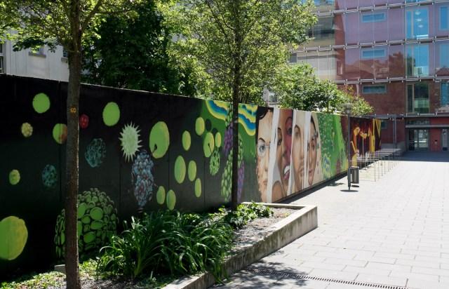Graffiti Fachhochschule Frankfurt