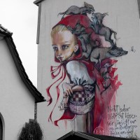 Once upon a time by Herakut in Schmalkalden (Wallcome Part 1/2)