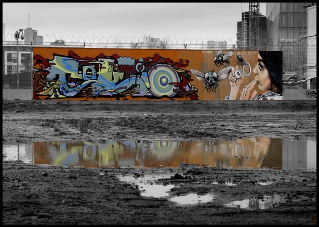 Frankfurt Graffiti EZB