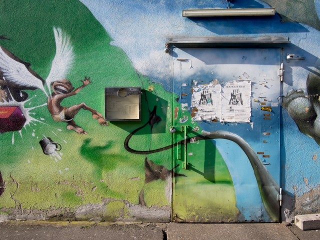 Graffiti Frankfurt Tanzhaus West