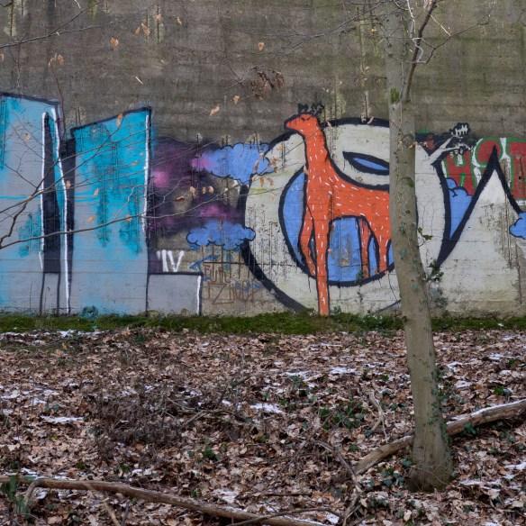 Graffiti Wiesbaden Fasanerie