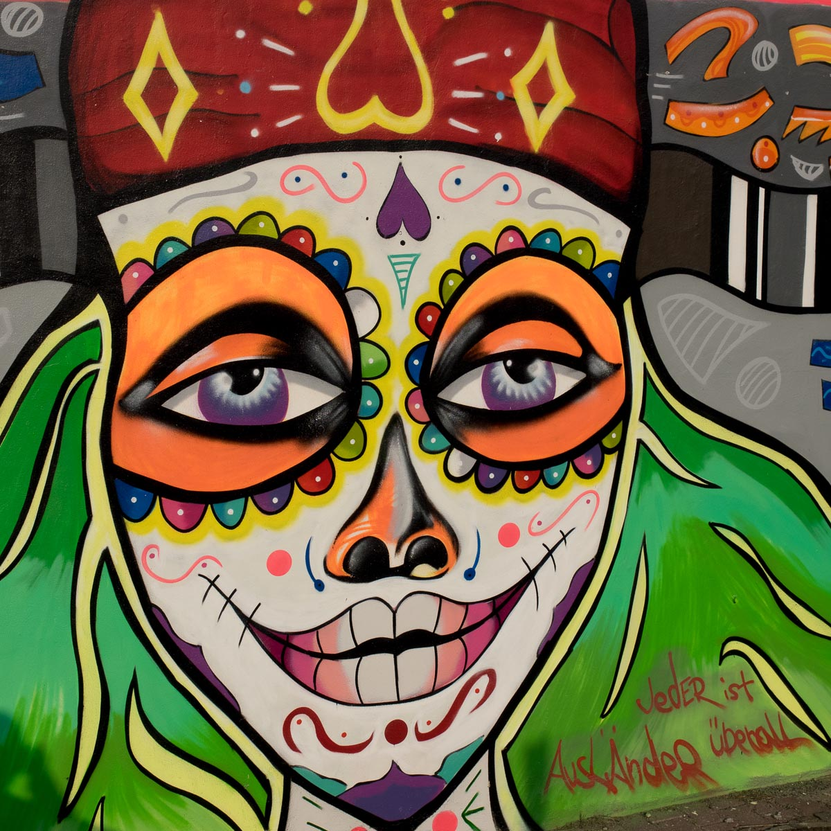 Frankfurt - Graffiti unter der Breitenbachbrücke (Bilder & Veranstaltungshinweis 04/2017)