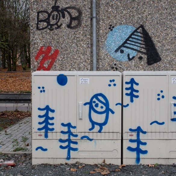 Frankfurt Streetart Stadtspaziergang