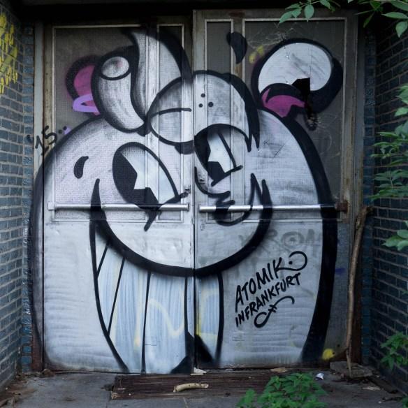 Graffiti Frankurt Ostbahnhof