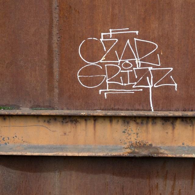 Frankfurt Graffiti Westhafen
