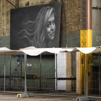 Amsterdam (3) NDSM Werft Halle 1 – Kunst im Kontext