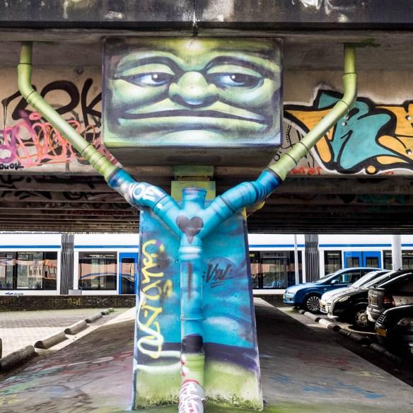 Amsterdam Graffiti Flevopark Hall of fame