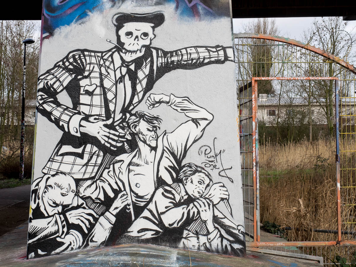 Graffiti, Streetart and Photography outside Germany