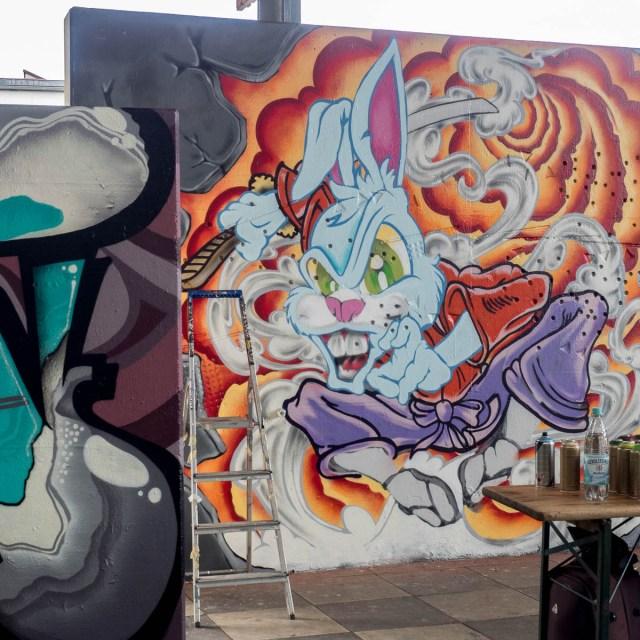 Graffiti Frankfurt Charackter Jam