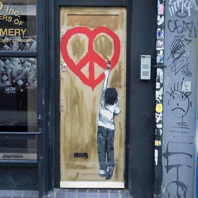 London Graffiti Streetart Brick Lane
