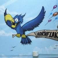 Wiesbaden - Graffiti im Schelmengraben - The Cornflakes Crew meets RZM (07/2016)
