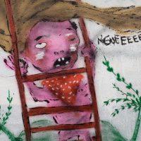 Paragraph 303 StGB oder Kunst? - Graffiti am Studio294 im Gutleutviertel (und Veranstaltungshinweis)