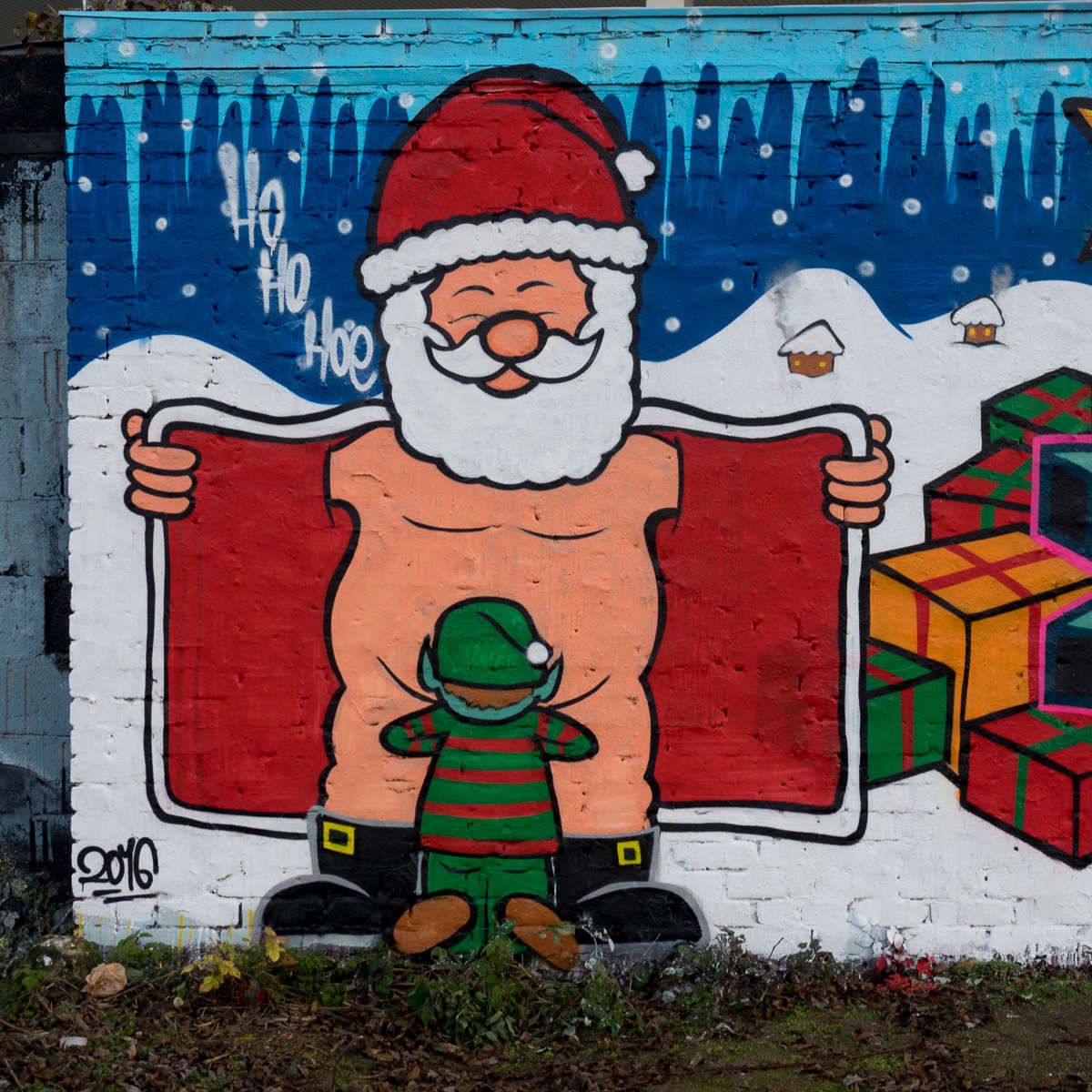 Frohe Weihnachten aus Wiesbaden mit der Rude Kids Crew