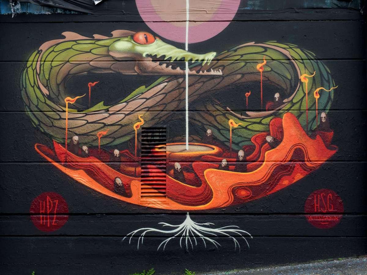 Wiesbaden - Neue Motive an der Kreativfabrik (09/2017)