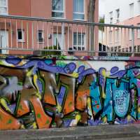 Mainz – Graffiti am Gonsenheimer Sand (Update 12/2017) - Hall of fame geschlossen ab 2018
